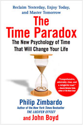 Zimbardo Time Paradox Book Cover
