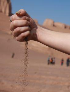 Sand Hand Dirty