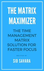 Time Matrix Maximizer